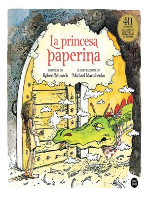 cover image of La princesa paperina