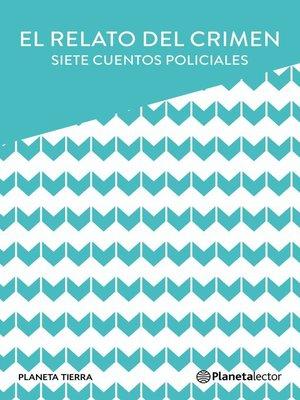 cover image of El relato del crimen