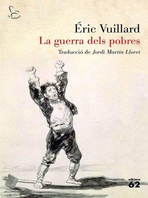 cover image of La guerra dels pobres
