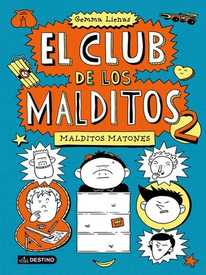 cover image of Malditos matones