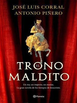 cover image of El trono maldito