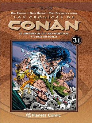 cover image of Las crónicas de Conan nº 31/34