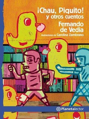 cover image of Chau, Piquito y otros cuentos