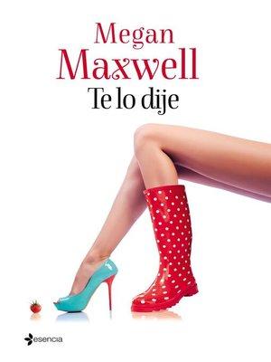 cover image of Te lo dije