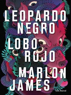 cover image of Leopardo Negro, Lobo Rojo