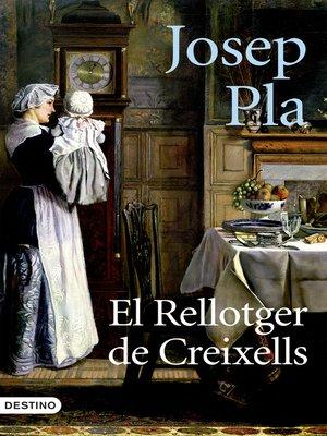 cover image of El rellotger de Creixells