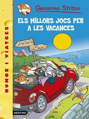 cover image of Els millors jocs per a les vacances