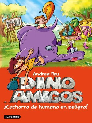 cover image of ¡Cachorro de humano en peligro!