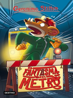cover image of El fantasma del metro