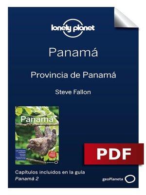 cover image of Panamá 2_3. Provincia de Panamá