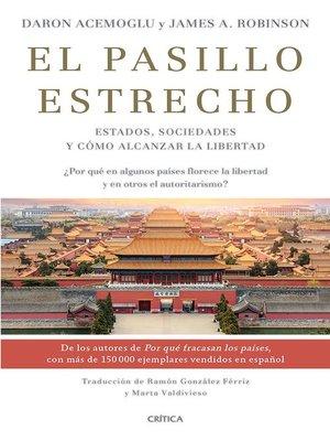 cover image of El pasillo estrecho (Edición mexicana)