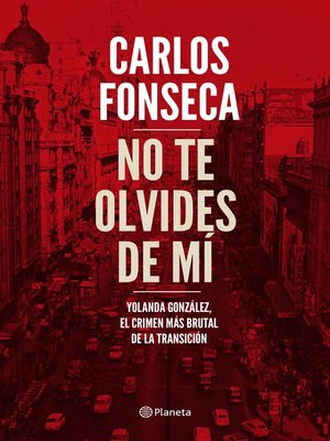 cover image of No te olvides de mí