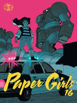 cover image of Paper Girls nº 16