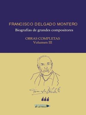 cover image of Obras Completas Volumen III