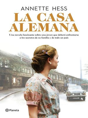 cover image of La casa alemana