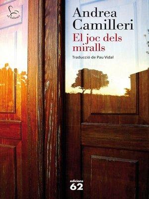 cover image of El joc dels miralls