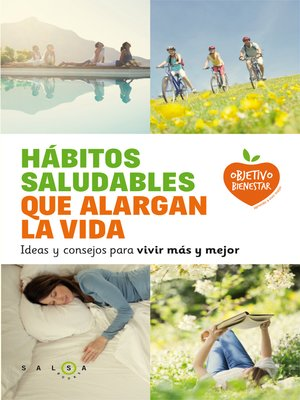 cover image of Hábitos saludables que alargan la vida