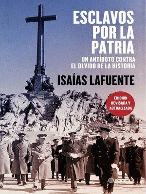 cover image of Esclavos por la patria