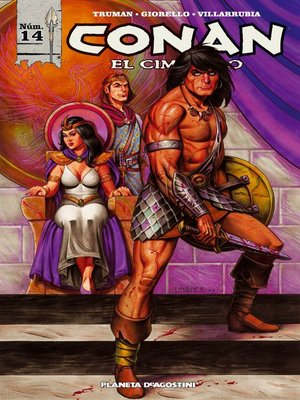 cover image of Conan el cimmerio nº 14/17