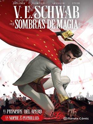 cover image of Sombras de magia nº 02 (novela gráfica)