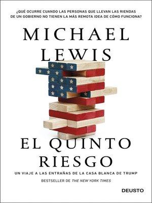 cover image of El quinto riesgo
