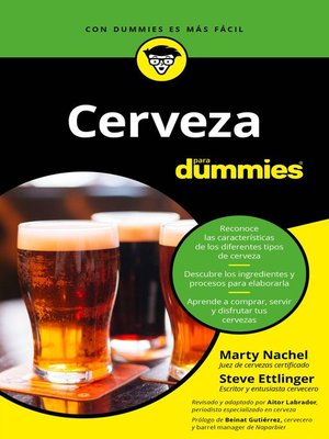 cover image of Cerveza para Dummies