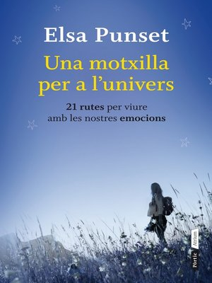 cover image of Una motxilla per a l'univers