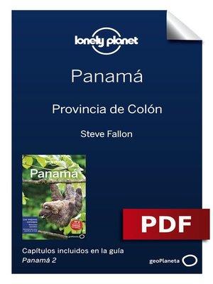 cover image of Panamá 2_9. Provincia de Colón