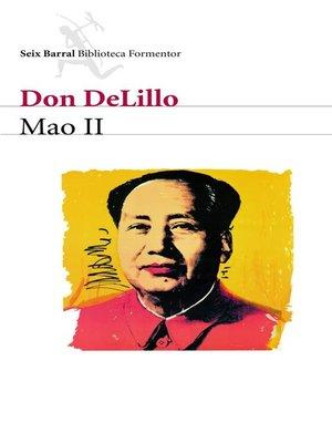 cover image of Mao II