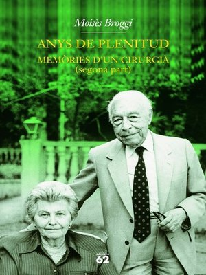 cover image of Anys de plenitud.