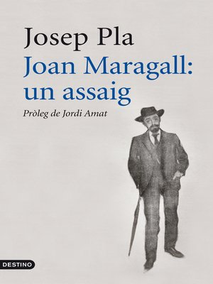 cover image of Joan Maragall