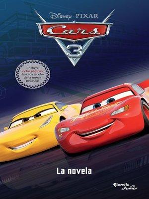 cover image of Cars 3. La novela