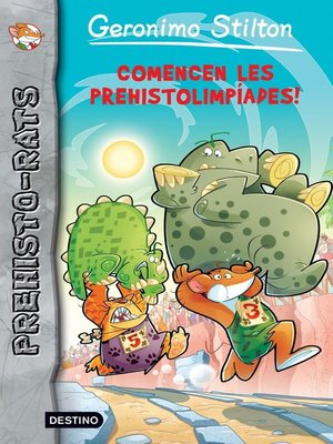 cover image of Comencen les prehistolimpíades