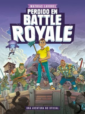 cover image of Perdido en Battle Royale