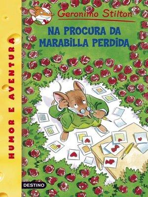 cover image of Na procura da marabilla perdida