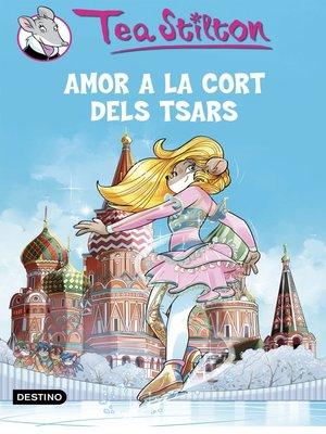 cover image of Amor a la cort dels Tsars