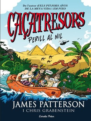cover image of Caçatresors. Perill al Nil