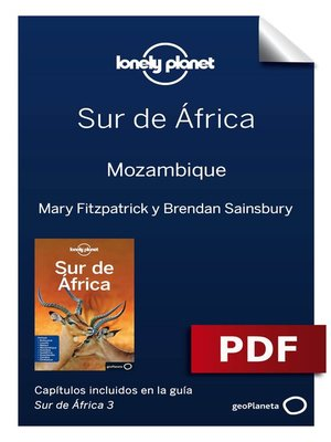 cover image of Sur de África 3. Mozambique