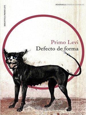 cover image of Defecto de forma