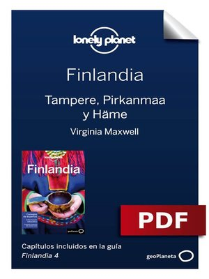 cover image of Finlandia 4_5. Tampere, Pirkanmaa y Häme