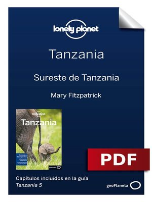 cover image of Tanzania 5_10. Sureste de Tanzania