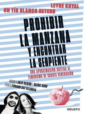 cover image of Prohibir la manzana y encontrar la serpiente