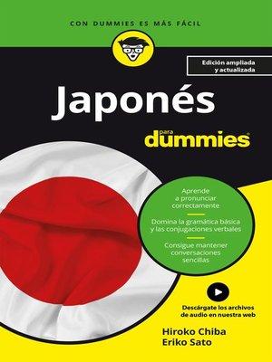 cover image of Japonés para Dummies