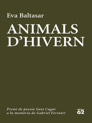 cover image of Animals d'hivern