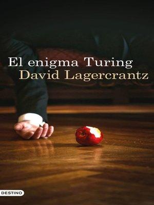cover image of El enigma Turing