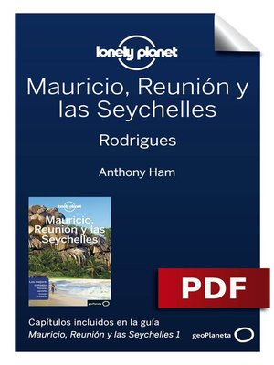 cover image of Mauricio, Reunión y las Seychelles 1. Rodrigues