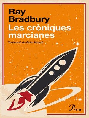 cover image of Les cròniques marcianes