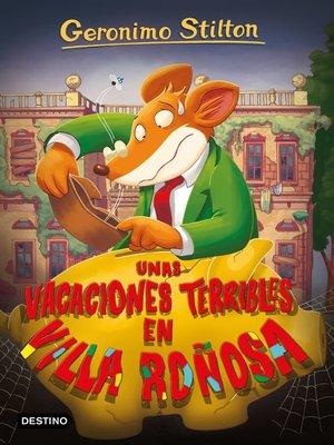 cover image of Unas vacaciones terribles en Villa Roñosa