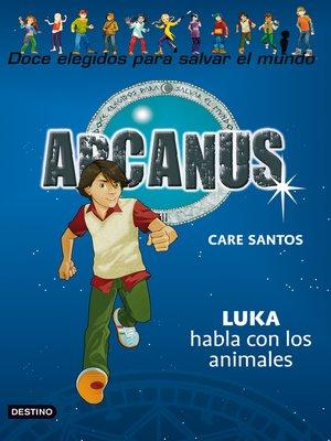 cover image of Luka habla con los animales
