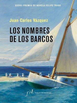 cover image of Los nombres de los barcos
